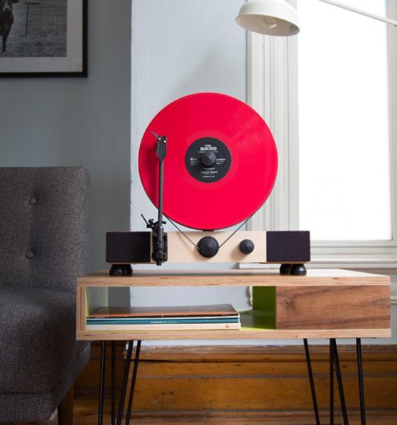 Floating Record, la platine Vinyl verticale