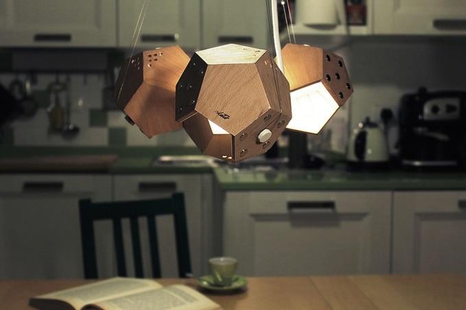 D-Twelve Lamp - des lampes magnétiques