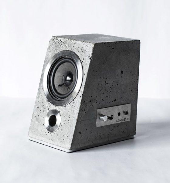 Concretus – une enceinte lourde faite de béton